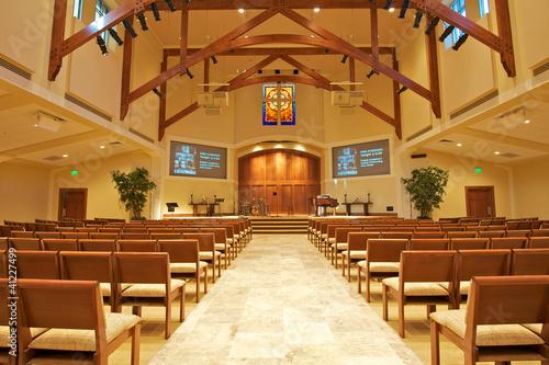 Photo sur Toile Edifice religieux Modern Chapel
