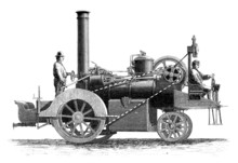 SteamCar - End 18th Century