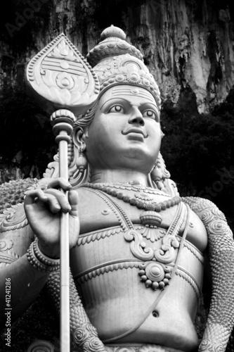 Photo  Statua di Murugan - Batu Caves - Kuala Lumpur