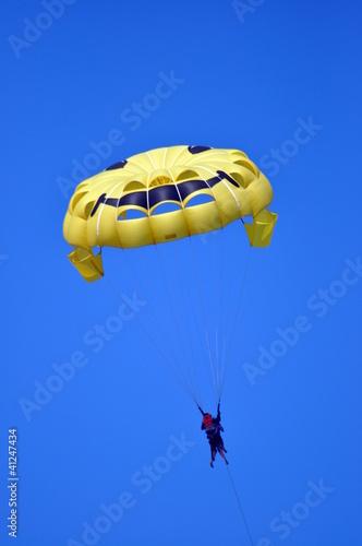 Foto op Canvas Luchtsport Parasailing