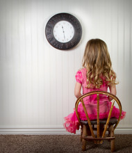 A Child In Time Out Or In Trou...