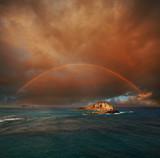 Fototapeta Tęcza - Hawaii