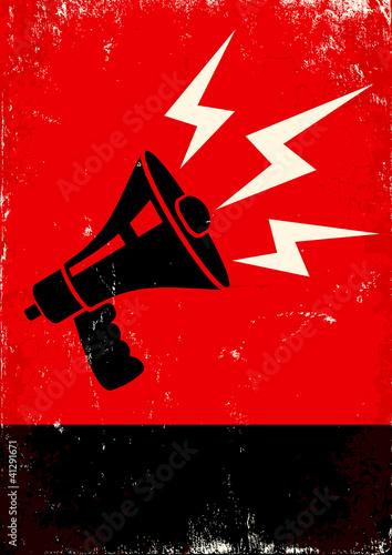 megaphone #41291671
