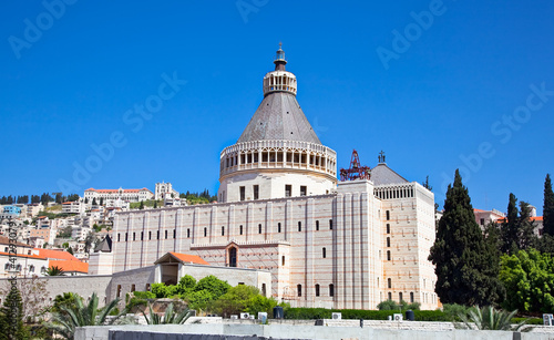 Photo Basilica of the Annunciation, Nazareth, Israel