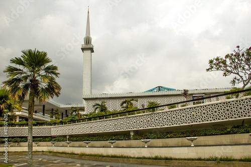 Masjid Negara - national mosque in Malaysia, Kuala Lumpur Wallpaper Mural