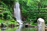 waterfall in park - 41309886