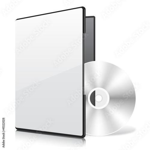 Fotografía  Blank Case and Disk