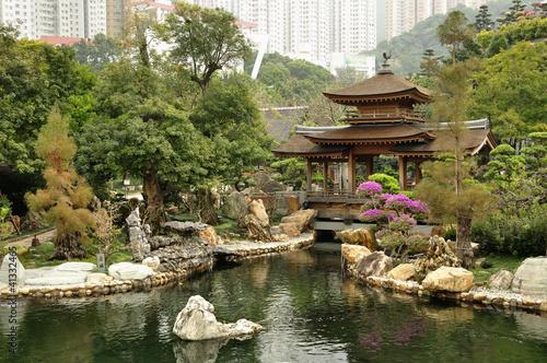 Zdjęcie XXL Nan Lian Garden, Kowloon, Hongkong.