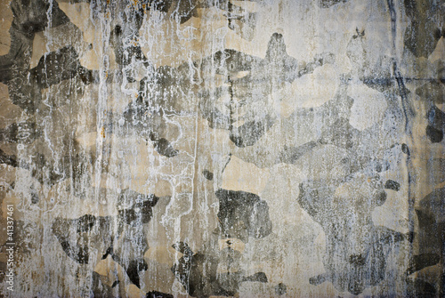 Aluminium Prints Old dirty textured wall Metal Surface Wall Background
