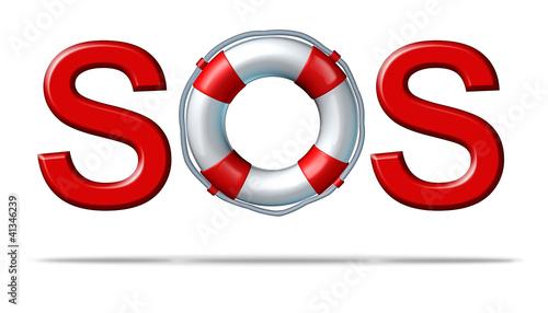 SOS Help Tapéta, Fotótapéta