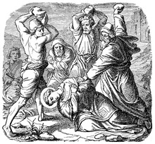 Depicts The Martyrdom Of Saint Stephen The Protomartyr