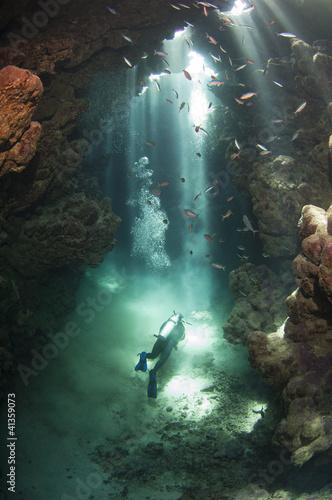 pletwonurek-w-podwodnej-jaskini