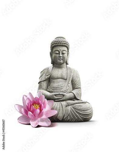 Akustikstoff - Statue Bouddha