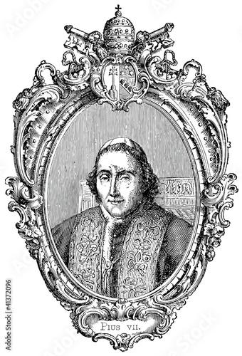 Photographie  Pope Pius VII