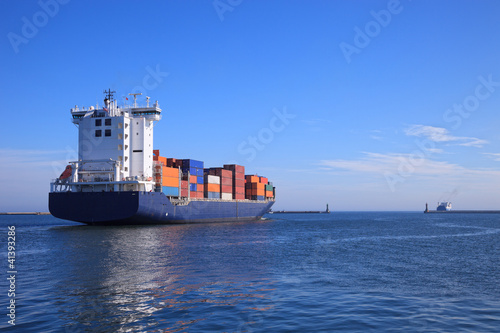 Fotografia  Container ship