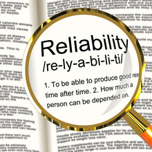 Reliability Definition Magnifi...