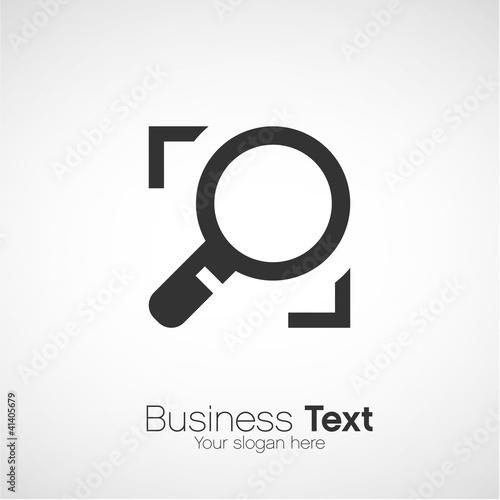 Fotografie, Tablou  logo business