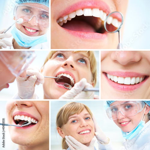 healthy teeth and Dental doctor #41415858
