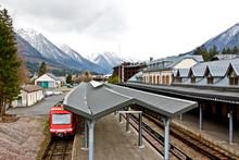 Chamonix Train Station, Chamonix Mont Blanc, France