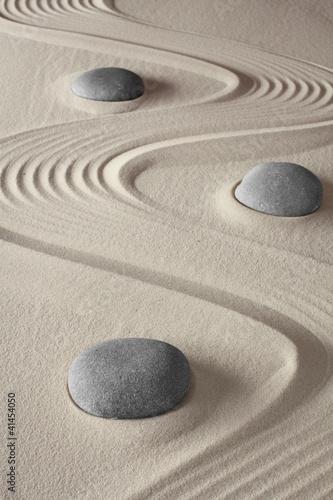 zen garden Plakát