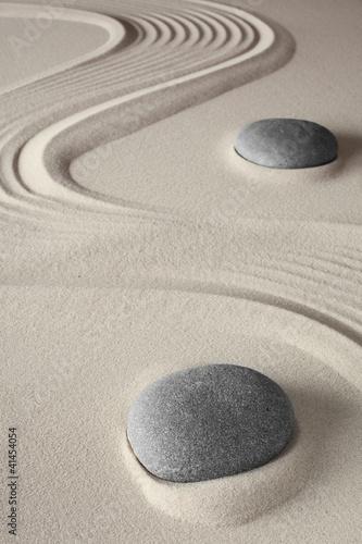 Foto op Plexiglas Stenen in het Zand meditation background