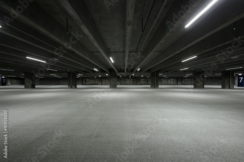 Fotografie, Obraz  Empty Garage