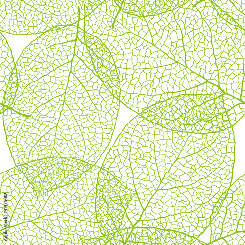 Tapeta zielona  fresh-green-leaves-background-vector-illustration