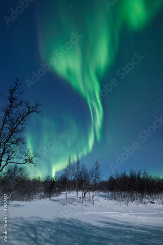 Photo  Aurora Borealis in Sweden
