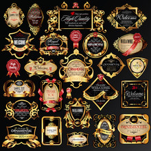 Vector Set Of Labels With Gold...