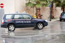 Italian Carabinieri Car