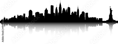 Fototapeta New York vector obraz