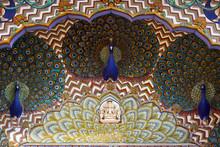 Art Work In City Palace. Jaipu...