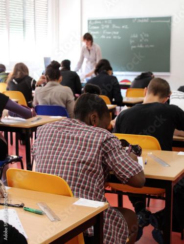 Foto  salle de classe, salle d'examen