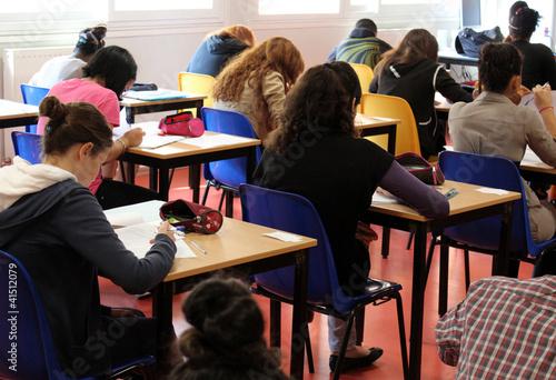 Foto  Klassenzimmer, Prüfungsraum