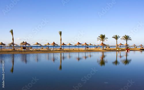 Motiv-Rollo Basic - Beach in Egypt