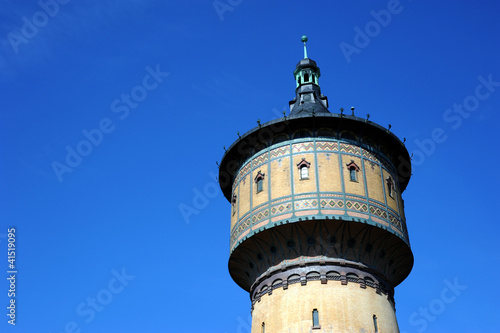 Valokuva  Historischer Wasserturm von 1897  in Halle Saale