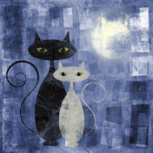 Obraz w ramie The Cats