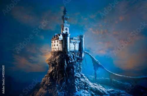Canvas Prints Castle Ñastle