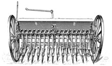 """Seed Drill """"Hallensis"""""""