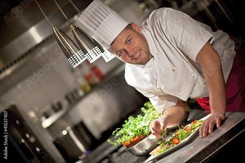 Fototapeta kucharz1 obraz