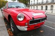 ancienne voiture rouge