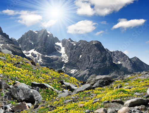 Cuadros en Lienzo view of the mountain Brenta-Dolomites Italy