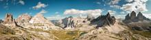 Dolomites Panoramic View
