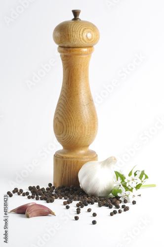 Fotografía  macinapepe con aglio