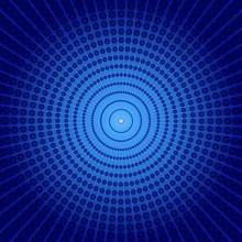 Blue Vortex Background