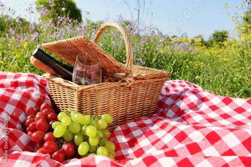 Keuken foto achterwand Picknick Picnic