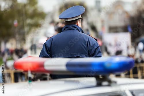 Police officer Tapéta, Fotótapéta