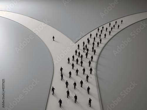 Fotografía On the crossroads