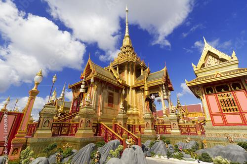 Thai Royal Crematorium in Bangkok, Thailand Poster