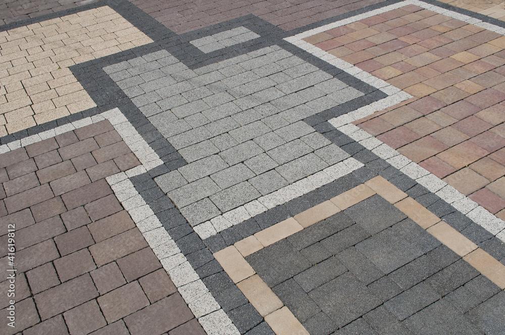 Fototapety, obrazy: pattern on the pavement